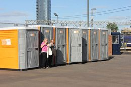 Event Toilet Hire from Toptoilets.com