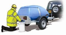 Water Bowser Hire from Toptoilets.com