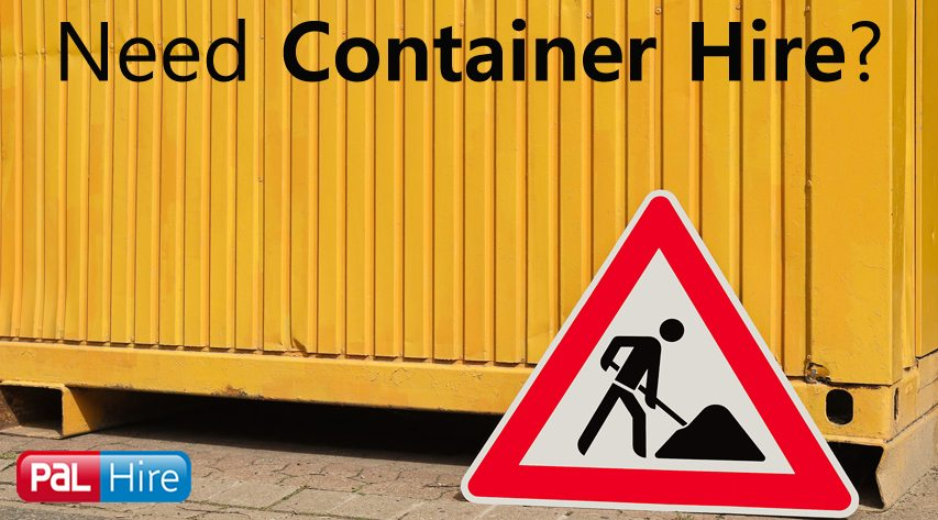 Container Hire from PAL Hire